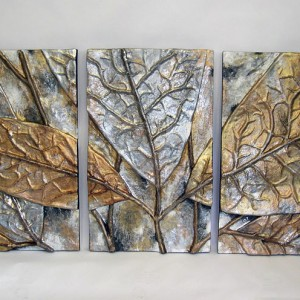 Leaf Relief [28in x 46in Panels]