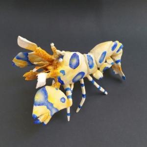 Harlequin Shrimp Sculpture