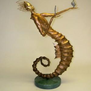 Seahorse Man Sculpture