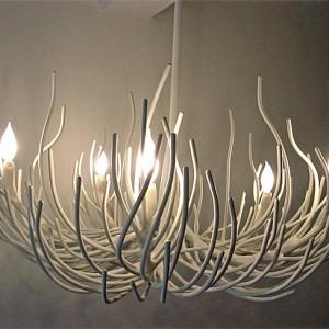 Coral Chandelier Light Fixture