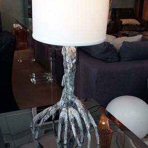 Silver Mangrove Table Lamp