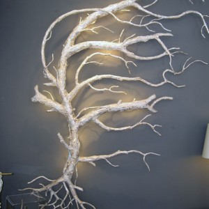 White Roots Wall Sconce