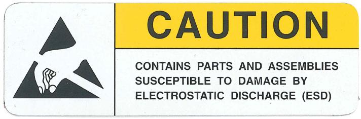 Caution-foil