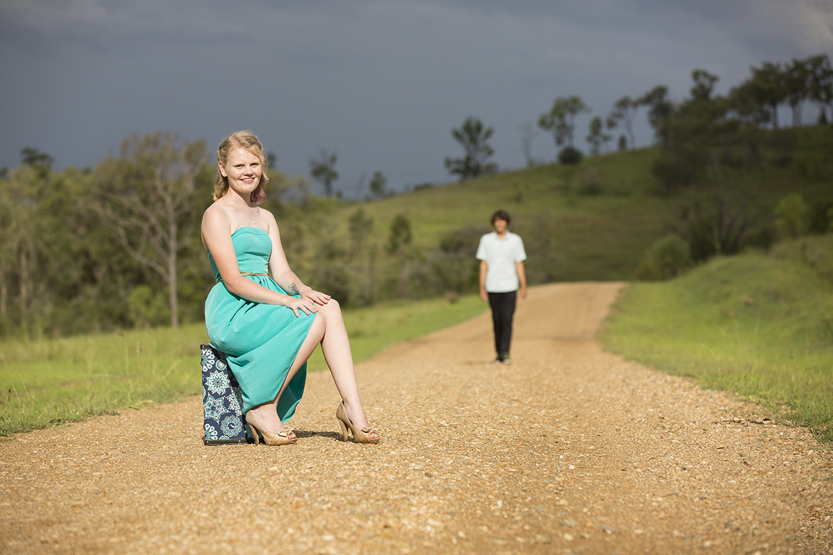 Gladstone engagement photographer