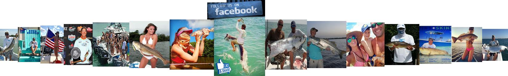 Fishing for tarpon snook and redfish