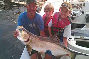 Charter fishing captain in Florida