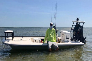Fly fishing charters on the flats of Ft Myers