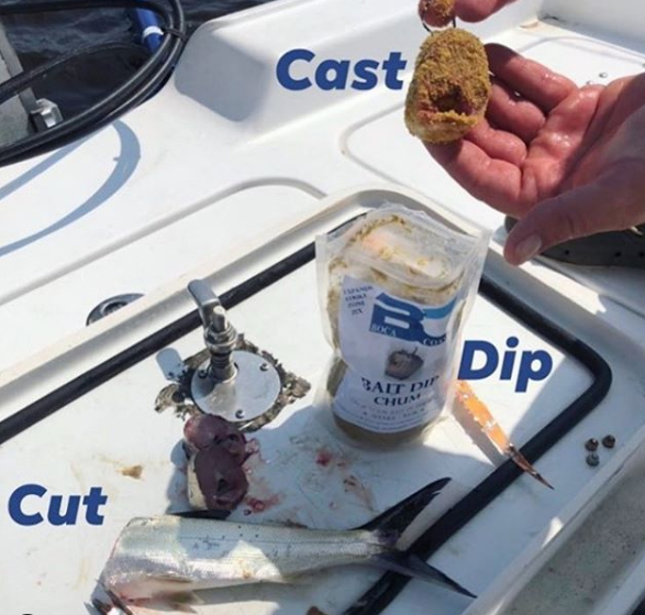 Bait dip chum instructions