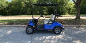 2020 Yamaha Drive2 EFI QuieTech Gas Aqua Blue