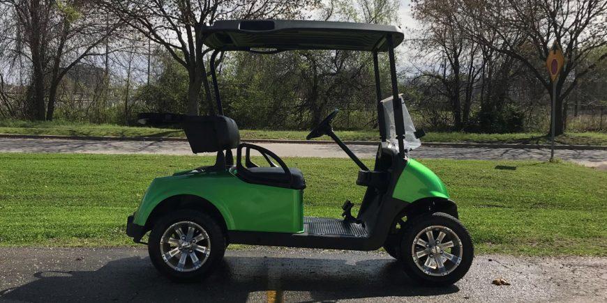 2016 E-Z-GO Monster Green Electric
