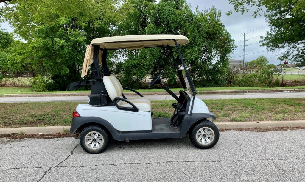 2014 Club Car Precedent White