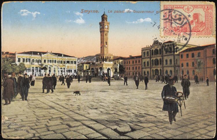 Πλατεία Διοικητηρίου - Σαραντόπουλος - από Σμύρνη σε Αυστρία 1914