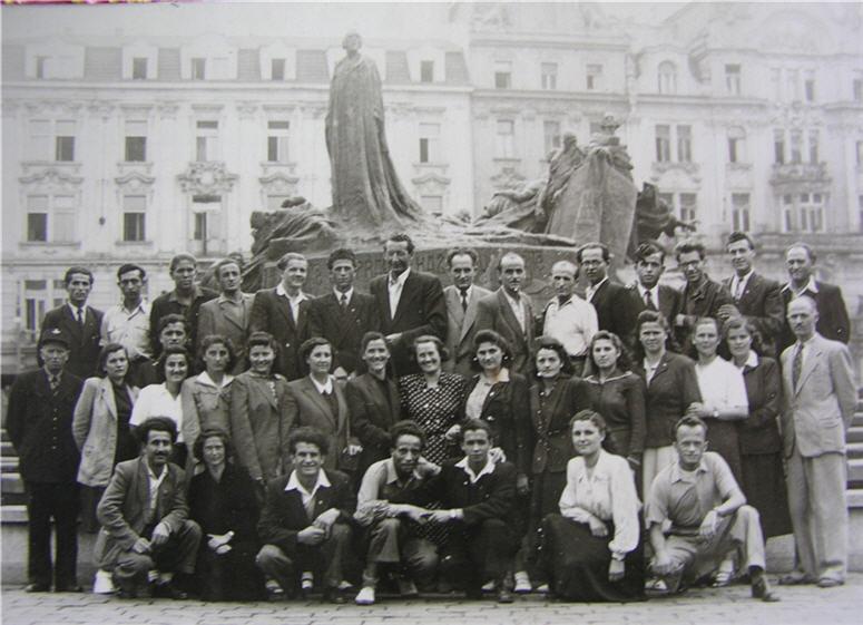 Σεμινάριο δασκάλων 1950 στην Πράγα