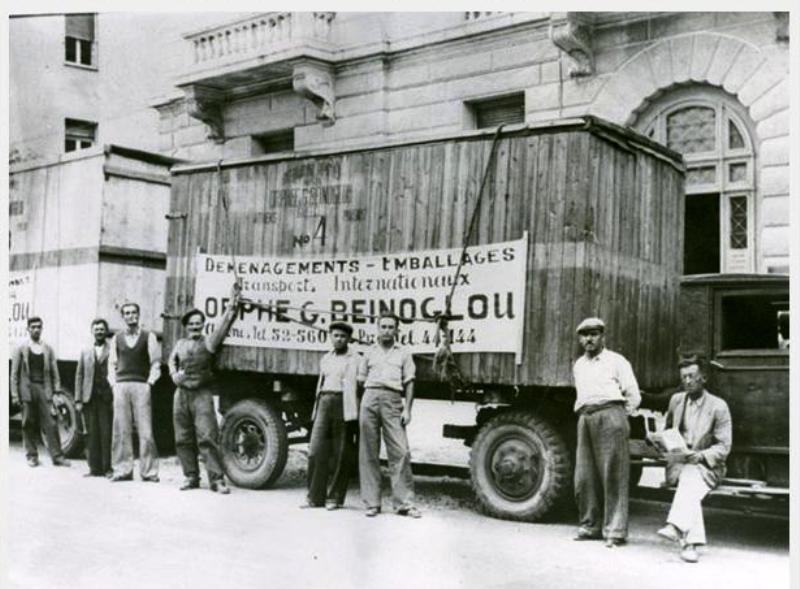 Η πρώτη οργανωμένη μεταφορική εταιρία στην Ελλάδα(1923)
