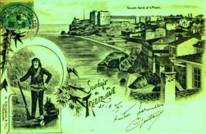souvenir de Trebizonde 21-8-1905