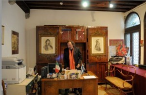 Ο Γραμματέας της Ελληνικής Κοινότητας Κώστας Μπόβος