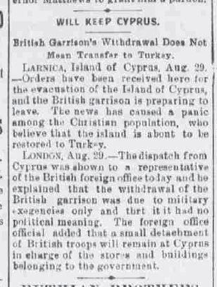 """""""Scranton Tribune"""", 30 Αυγούστου 1894"""