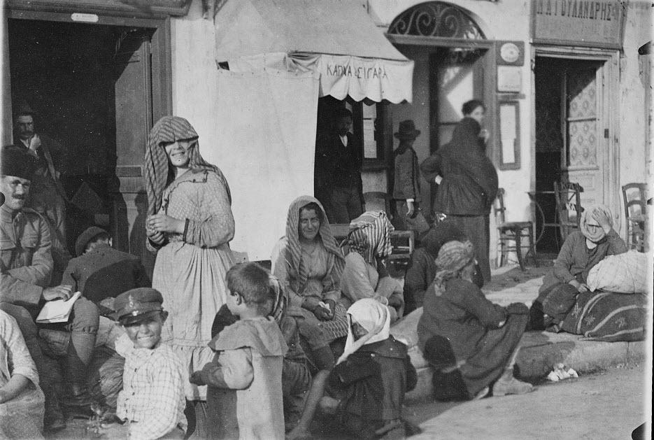 Πρόσφυγες από τη Μ. Ασία στην Αθήνα το 1922 (Library of Congress)