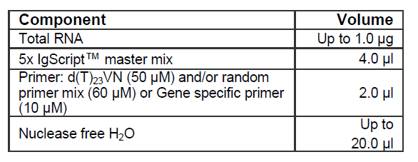 cDNA Synthesis Probe Based RT-qPCR Kit