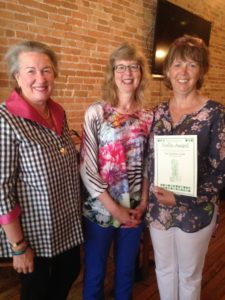 """Trellis Award"" presented to Sue Jones"