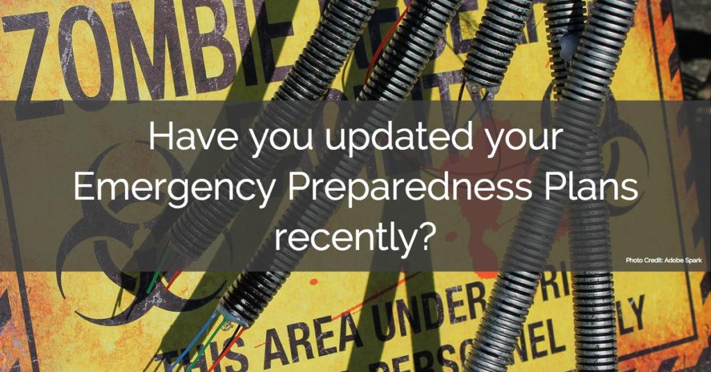 Emergency Preparedness Plans 2018