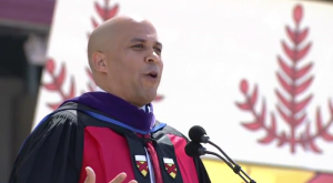 Cory Booker at Stanford University