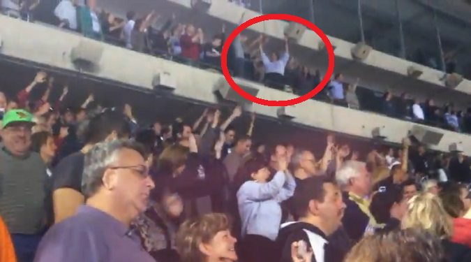 Gov. Christie spotted partying at a 2012 Springsteen concert.