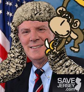 Monkey Court Judge Frank Pallone