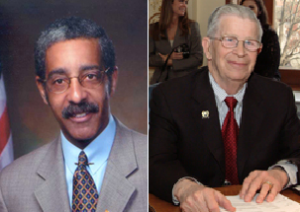 Senators Rice (left) and Thompson (right)