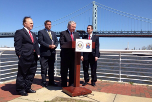 port authority press conference