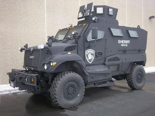 An increasingly-common armored police vehicle (Photo: Dakota County Sheriff's Office)