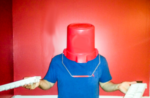 PEER PRESSURE: I spent a few days deliberating how to deal with ice bucket challenges being thrown my way.