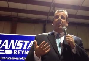 Christie campaigns in Iowa