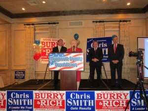 Golden's county slate declares victory on Election Night 2014.