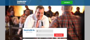 A screenshot from leadershipmattersforamerica.org