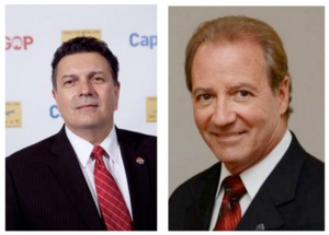 The LD1 GOP Assembly ticket: Fiocchi (left) and Sauro (right)