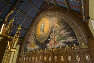 An image of SHU's Immaculate Conception Chapel (Photo credit: shu.edu)