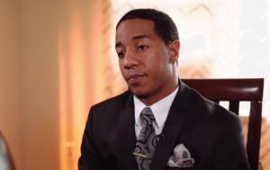Steffon Josey-Davis during an NRA interview.