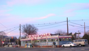 The iconic Bendix Diner on Route 17 in Hasbrouck Heights