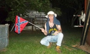 Dylann Roof and Confederate flag - 6-24-15