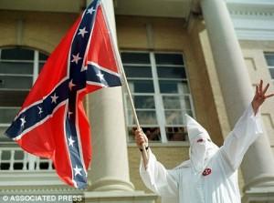 KKK Confederate flag 2 - 6-23-15