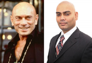 "Khemraj ""Chico"" Ramchal (RIGHT), not Yul Brynner (LEFT)"
