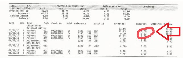 fiocchi tax record 2