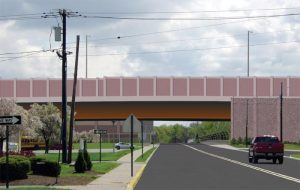A concept of one aspect of the Interchange's upgrade via the NJDOT's website.