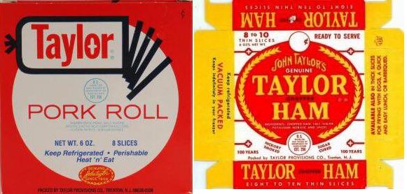 pork roll taylor ham
