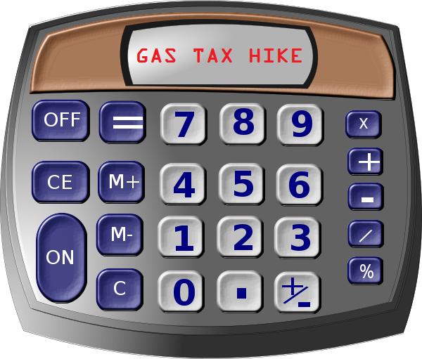 calculator GAS TAX hike