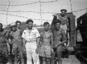 Detention camp in Cyprus