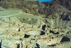 Wadi Qumran and the Ruins