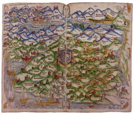 First_Map_of_the_Holy_Land