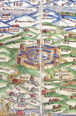 First_Modern_Printed_Map_of_the_Holy_Land